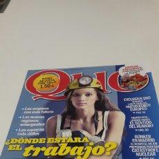 Coleccionismo de Revistas y Periódicos: REVISTA QUO. N ° 193. OCT 2011.. Lote 77585570