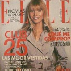 Coleccionismo de Revistas y Periódicos: ELLE / FEBRERO 2004 / PORTADA GWYNETH PALTROW. Lote 77746833