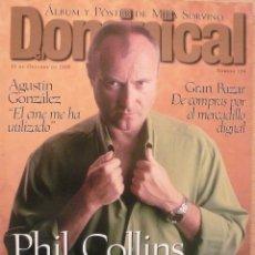 Coleccionismo de Revistas y Periódicos: DOMINICAL / 13 OCTUBRE 1996 / PORTADA PHIL COLLINS . Lote 77834225