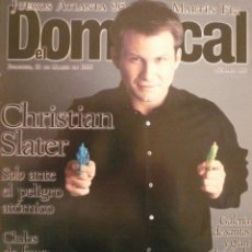 Coleccionismo de Revistas y Periódicos: DOMINICAL / 31 MARZO 1996 / PORTADA CHRISTIAN SLATER . Lote 77834645