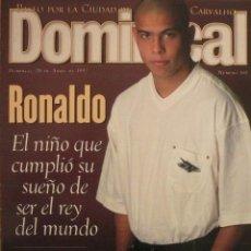 Coleccionismo de Revistas y Periódicos: DOMINICAL / 20 ABRIL 1997 / PORTADA RONALDO. Lote 77902249