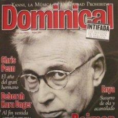 Coleccionismo de Revistas y Periódicos: DOMINICAL / 7 DICIEMBRE 1997 / PORTADA RAIMON. Lote 77903641