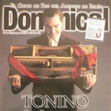 Coleccionismo de Revistas y Periódicos: DOMINICAL / 21 DICIEMBRE 1997 / PORTADA TONINO. Lote 77903701