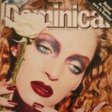 Coleccionismo de Revistas y Periódicos: DOMINICAL / 14 DICIEMBRE 1997 / PORTADA UMA THURMAN. Lote 77903825