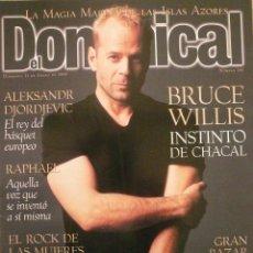 Coleccionismo de Revistas y Periódicos: DOMINICAL / 11 ENERO 1998 / PORTADA BRUCE WILLIS. Lote 77904089