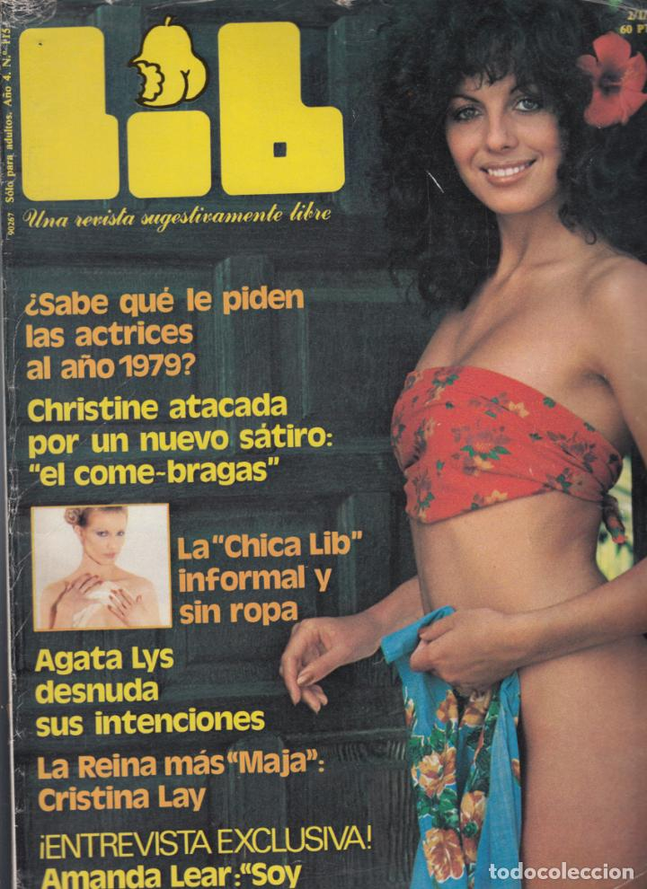 Lib Nº 115 02011979 Agatha Lys Amanda Lear Cristina Lay