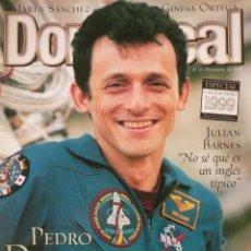Coleccionismo de Revistas y Periódicos: DOMINICAL / 27 DICIEMBRE 1998 / PORTADA PEDRO DUQUE. Lote 78135365