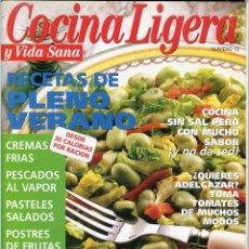 Coleccionismo de Revistas y Periódicos: COCINA LIGERA Y VIDA SANA Nº 10. Lote 78277865