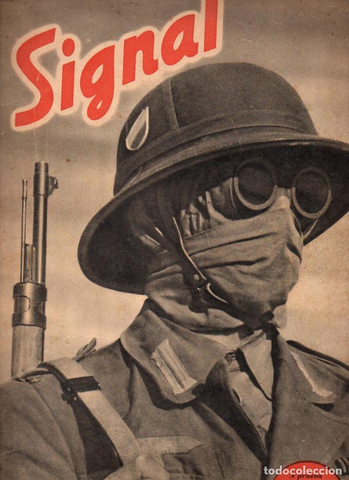 REVISTA SIGNAL 2º NÚMERO JUNIO 1941 (Coleccionismo - Revistas y Periódicos Modernos (a partir de 1.940) - Otros)
