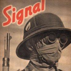 Coleccionismo de Revistas y Periódicos: REVISTA SIGNAL 2º NÚMERO JUNIO 1941. Lote 78358355