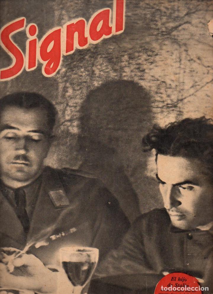 REVISTA SIGNAL 1º NÚMERO SEPTIEMBRE 1941 (Coleccionismo - Revistas y Periódicos Modernos (a partir de 1.940) - Otros)
