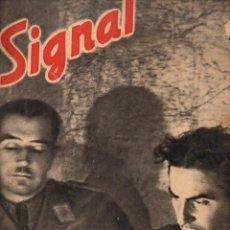 Coleccionismo de Revistas y Periódicos: REVISTA SIGNAL 1º NÚMERO SEPTIEMBRE 1941. Lote 78358669