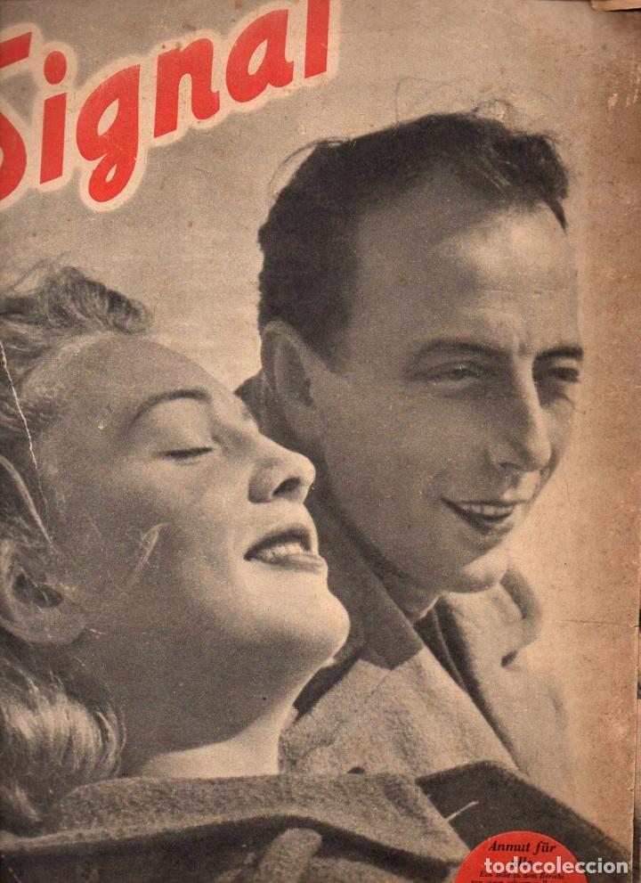 REVISTA SIGNAL 1º NÚMERO ABRIL 1941 (Coleccionismo - Revistas y Periódicos Modernos (a partir de 1.940) - Otros)