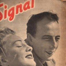 Coleccionismo de Revistas y Periódicos: REVISTA SIGNAL 1º NÚMERO ABRIL 1941. Lote 78358777