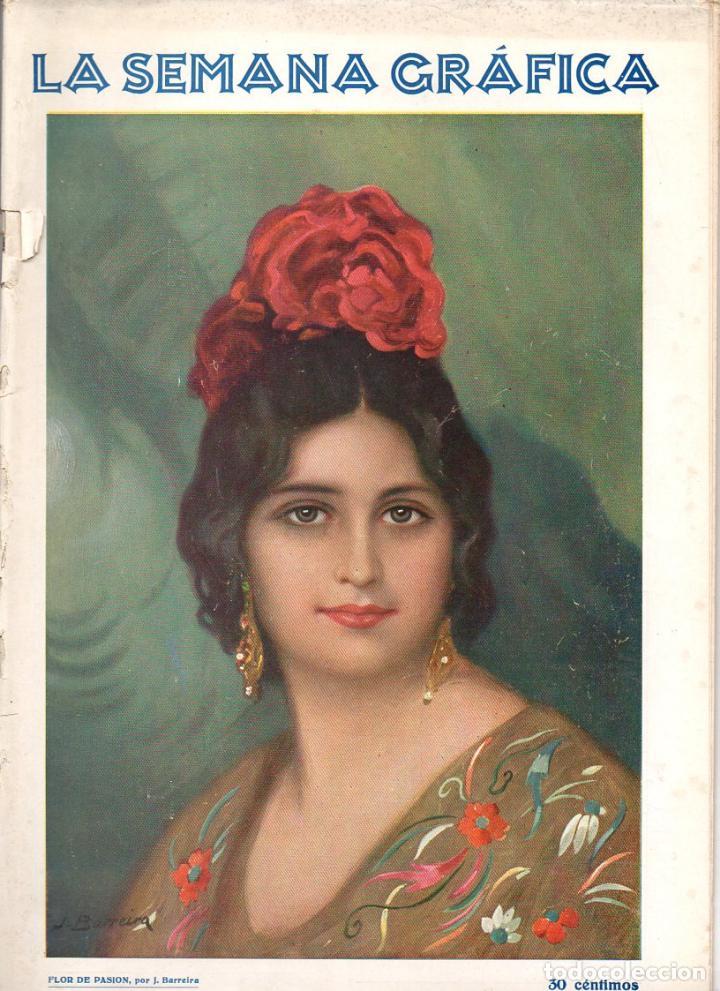 LA SEMANA GRÁFICA 205 - VALENCIA, JUNIO 1930 - SAGUNTO MORELLA (Coleccionismo - Revistas y Periódicos Antiguos (hasta 1.939))
