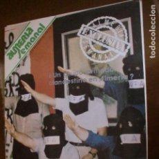 Coleccionismo de Revistas y Periódicos: ALMERIA SEMANAL NOVIEMBRE 79 FOTO ADIC. Lote 78408017