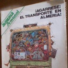 Coleccionismo de Revistas y Periódicos: ALMERIA SEMANAL COTUBRE 79 FOTO ADIC-. Lote 78408305