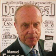 Coleccionismo de Revistas y Periódicos: DOMINICAL / 19 OCTUBRE 1997 / PORTADA MANUEL FRAGA. Lote 78529433