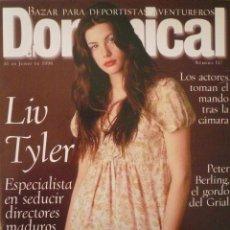 Coleccionismo de Revistas y Periódicos: DOMINICAL / 16 JUNIO 1996 / PORTADA LIV TYLER. Lote 78571457