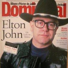 Coleccionismo de Revistas y Periódicos: DOMINICAL / 26 FEBRERO 1995 / PORTADA ELTON JOHN. Lote 78573637