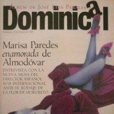 Coleccionismo de Revistas y Periódicos: DOMINICAL / 15 ENERO 1995 / PORTADA MARISA PAREDES. Lote 78574749