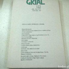 Coleccionismo de Revistas y Periódicos: REVISTA GRIAL-NUMERO 122- AÑO 1994-N. Lote 78588049