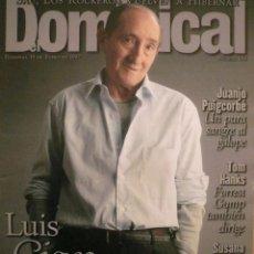 Coleccionismo de Revistas y Periódicos: DOMINICAL / 19 ENERO 1997 / PORTADA LUIS CIGES. Lote 78600109