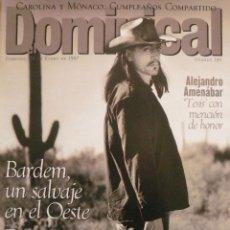 Coleccionismo de Revistas y Periódicos: DOMINICAL / 26 ENERO 1997 / PORTADA JAVIER BARDEM. Lote 78600505