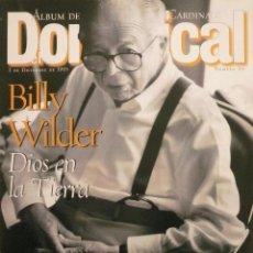 Coleccionismo de Revistas y Periódicos: DOMINICAL / 3 DICIEMBRE 1995 / PORTADA BILLY WILDER. Lote 78601985