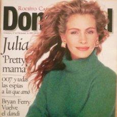 Coleccionismo de Revistas y Periódicos: DOMINICAL / 17 DICIEMBRE 1995 / PORTADA JULIA ROBERTS. Lote 78602493