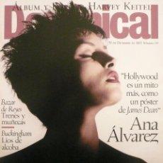 Coleccionismo de Revistas y Periódicos: DOMINICAL / 31 DICIEMBRE 1995 / PORTADA ANA ÁLVAREZ. Lote 78602917