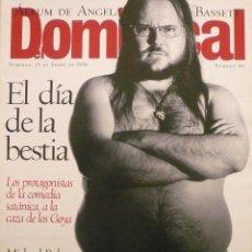 Coleccionismo de Revistas y Periódicos: DOMINICAL / 21 ENERO 1996 / PORTADA SANTIAGO SEGURA. Lote 78604381
