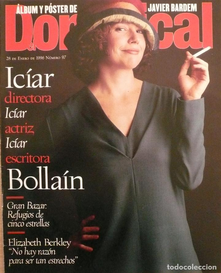 DOMINICAL / 28 ENERO 1996 / PORTADA ICIAR BOLLAÍN (Coleccionismo - Revistas y Periódicos Modernos (a partir de 1.940) - Otros)