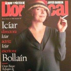 Coleccionismo de Revistas y Periódicos: DOMINICAL / 28 ENERO 1996 / PORTADA ICIAR BOLLAÍN. Lote 78604637