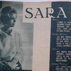 Coleccionismo de Revistas y Periódicos: ONDAS NÚM 186. 1960. SIN PORTADA.CARMEN SEVILLA.LUIS MIGUEL DOMINGUIN.DALÍ.ABBE LANE.CHARLTON HESTON. Lote 78609547