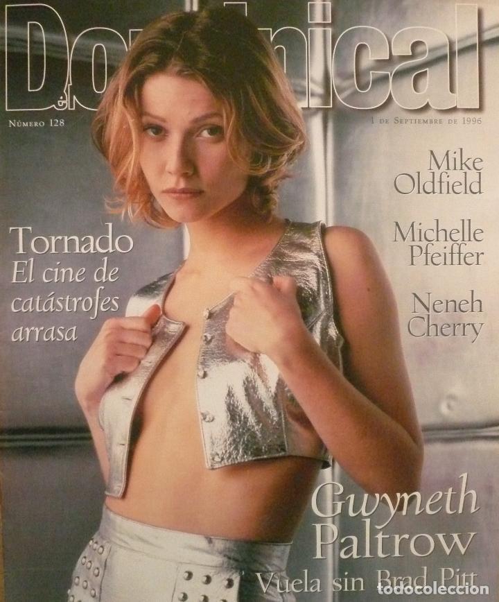 DOMINICAL / 1 SEPTIEMBRE 1996 / PORTADA: GWYNETH PALTROW (Coleccionismo - Revistas y Periódicos Modernos (a partir de 1.940) - Otros)