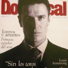 Coleccionismo de Revistas y Periódicos: DOMINICAL / 25 AGOSTO 1996 / PORTADA: JOSELITO. Lote 78616921