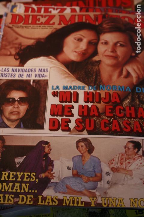 JOAN COLLINS SARA MONTIEL PALOMA SAN BASILIO NORMAL DUVAL ROCIO JURADO ALASKA 1985 (Coleccionismo - Revistas y Periódicos Modernos (a partir de 1.940) - Otros)