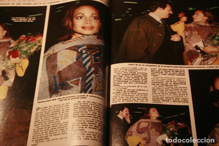 Coleccionismo de Revistas y Periódicos: JOAN COLLINS SARA MONTIEL PALOMA SAN BASILIO NORMAL DUVAL ROCIO JURADO ALASKA 1985 - Foto 2 - 78623601