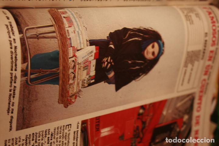 Coleccionismo de Revistas y Periódicos: JOAN COLLINS SARA MONTIEL PALOMA SAN BASILIO NORMAL DUVAL ROCIO JURADO ALASKA 1985 - Foto 4 - 78623601