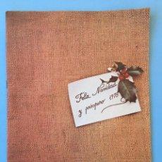 Coleccionismo de Revistas y Periódicos: REVISTA ROMBO DE RENAULT NUMERO 22 DE DICIEMBRE DE 1977. Lote 78939889