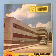 Coleccionismo de Revistas y Periódicos: REVISTA ROMBO DE RENAULT NUMERO 28 DEL VERANO DE 1979. Lote 78940273