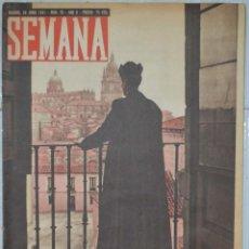 Coleccionismo de Revistas y Periódicos: REVISTA SEMANA, Nº 70. 24-JUNIO-1941. LA BATALLA DE ÁFRICA. Lote 79216597