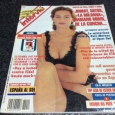 Coleccionismo de Revistas y Periódicos: INTERVIU Nº 949, 1994 - ATUTXA, ENRIQUE DEL POZO, ESTHER ARROYO, BONET, SALCEDO, MATEOS, PAQUITA,. Lote 79318125