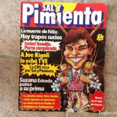 Coleccionismo de Revistas y Periódicos: REVISTA SAL Y PIMIENTA. Lote 79549293