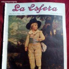 Coleccionismo de Revistas y Periódicos: LA ESFERA Nº333 AÑO 1920 LA MONTEHERMOSEÑA MONTEHERMOSO-SALINAS-PUERTA MORO SALAMANCA. Lote 79565069