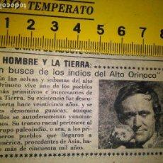 Coleccionismo de Revistas y Periódicos: AÑOS 80 - RECORTE REVISTA - TV - FELIX RODRIGUEZ DE LA FUENTE. Lote 79637253