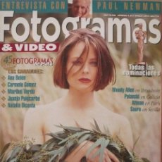 Coleccionismo de Revistas y Periódicos: FOTOGRAMAS / Nº 1817 / MARZO 1995 / PORTADA: JODIE FOSTER. Lote 79741701