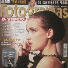 Coleccionismo de Revistas y Periódicos: FOTOGRAMAS / Nº 1819 / MAYO 1995 / PORTADA: WINONA RYDER. Lote 79741961