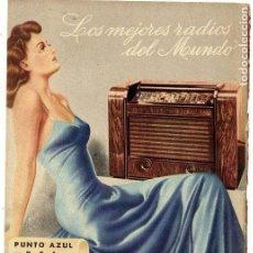 Coleccionismo de Revistas y Periódicos: RADIO RAMBLAS 1943 HOJITA REVISTA. Lote 79783397